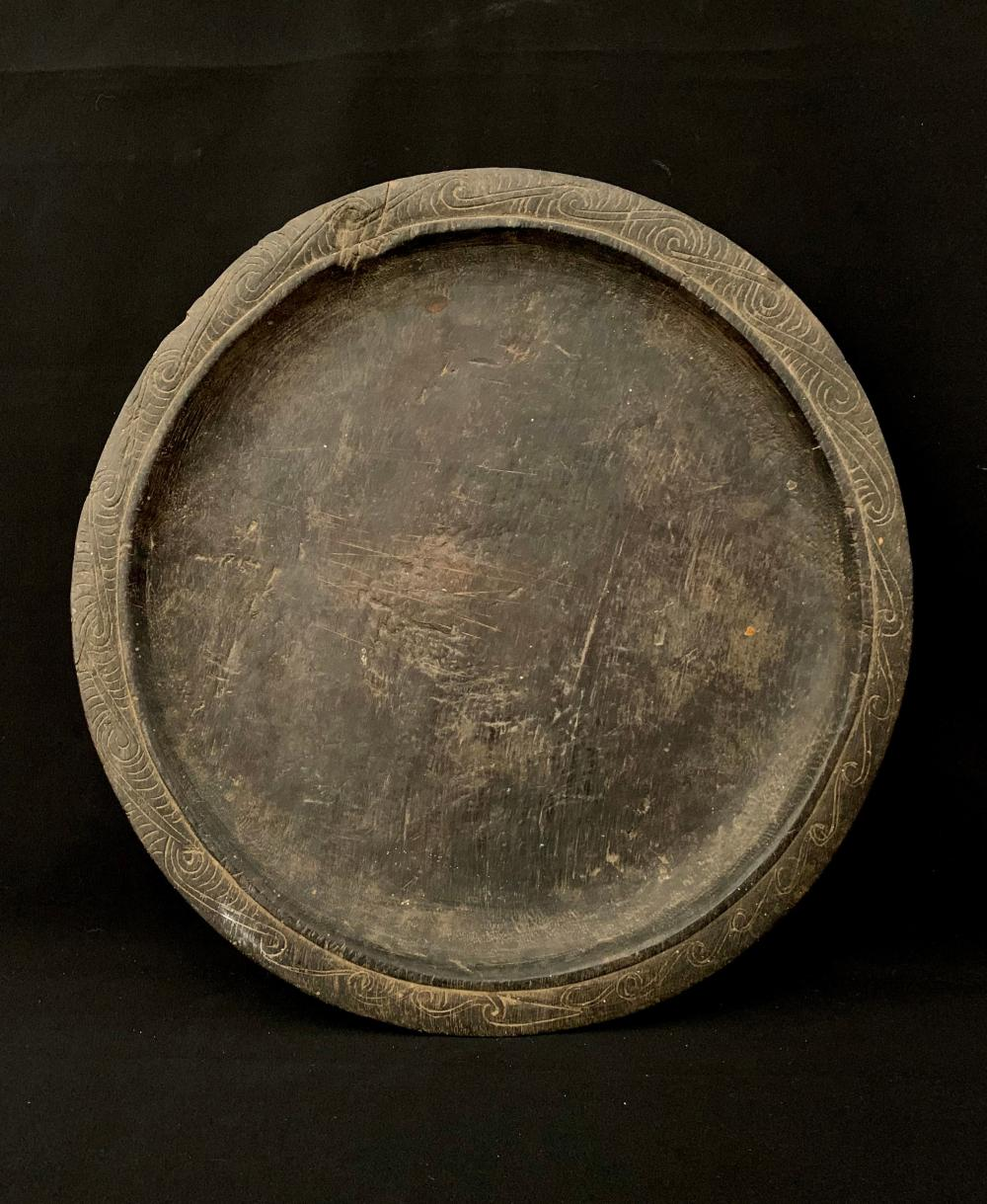A Wooden Platter, Louisades, Milne Bay, Papua New Guinea