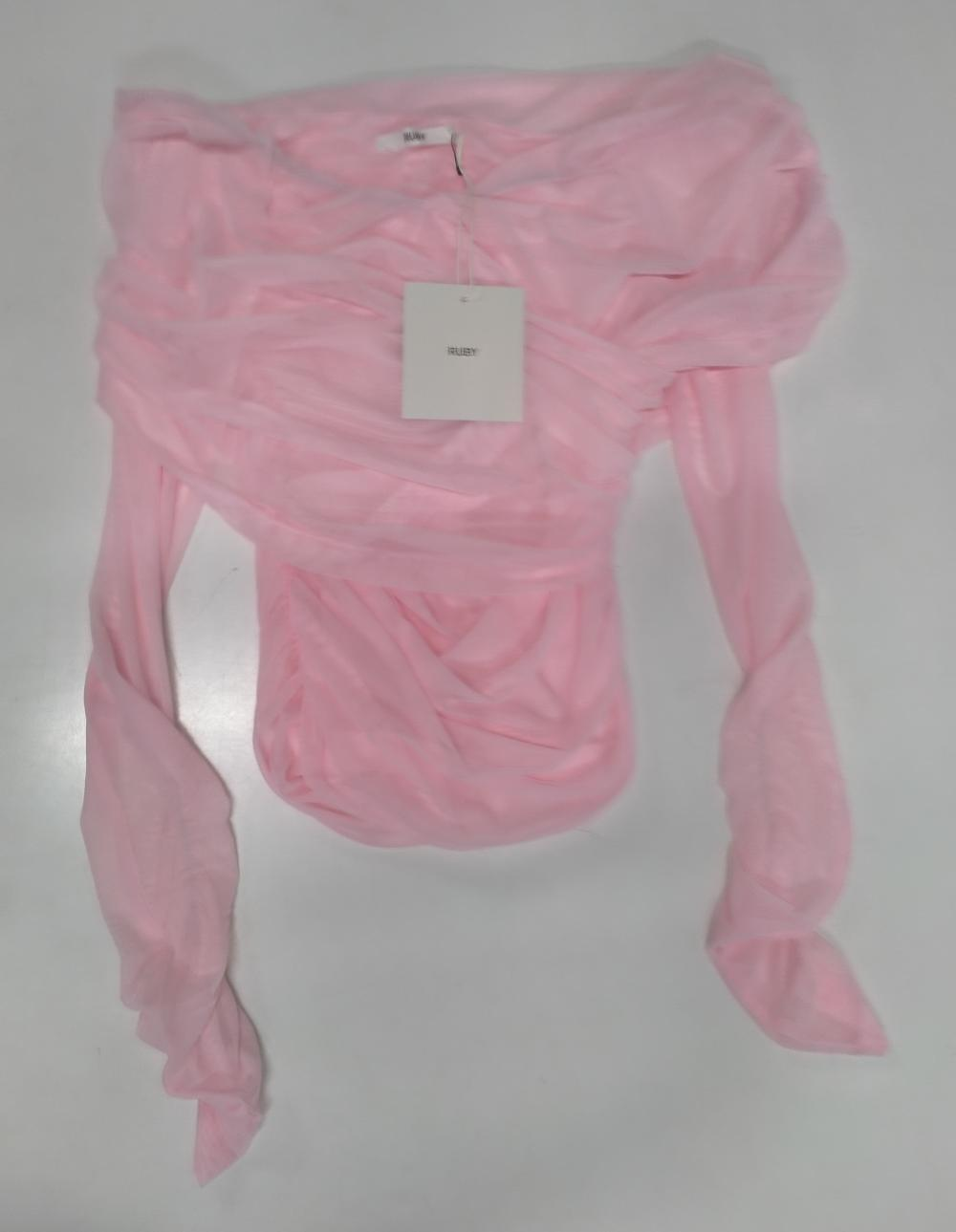 A designer top marked Ruby RR$199