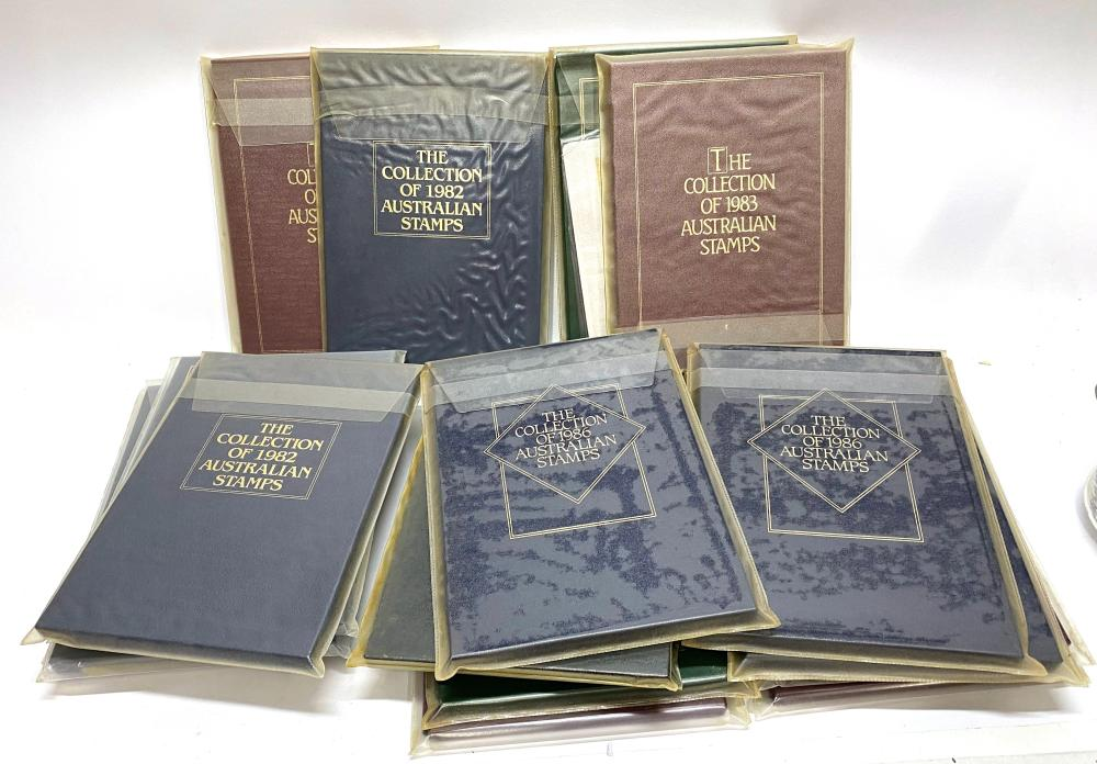 Seventeen Books, The Collection of Australian Stamps 1982-1988