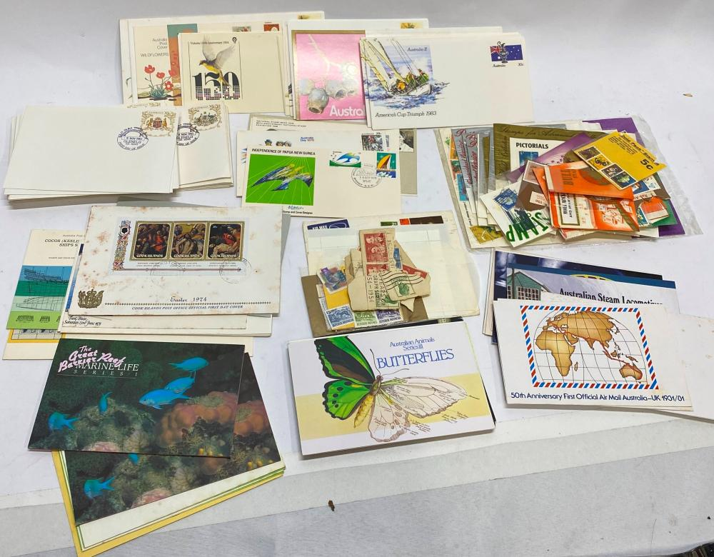 A Collection of First Day Covers & Other Australian Stamps