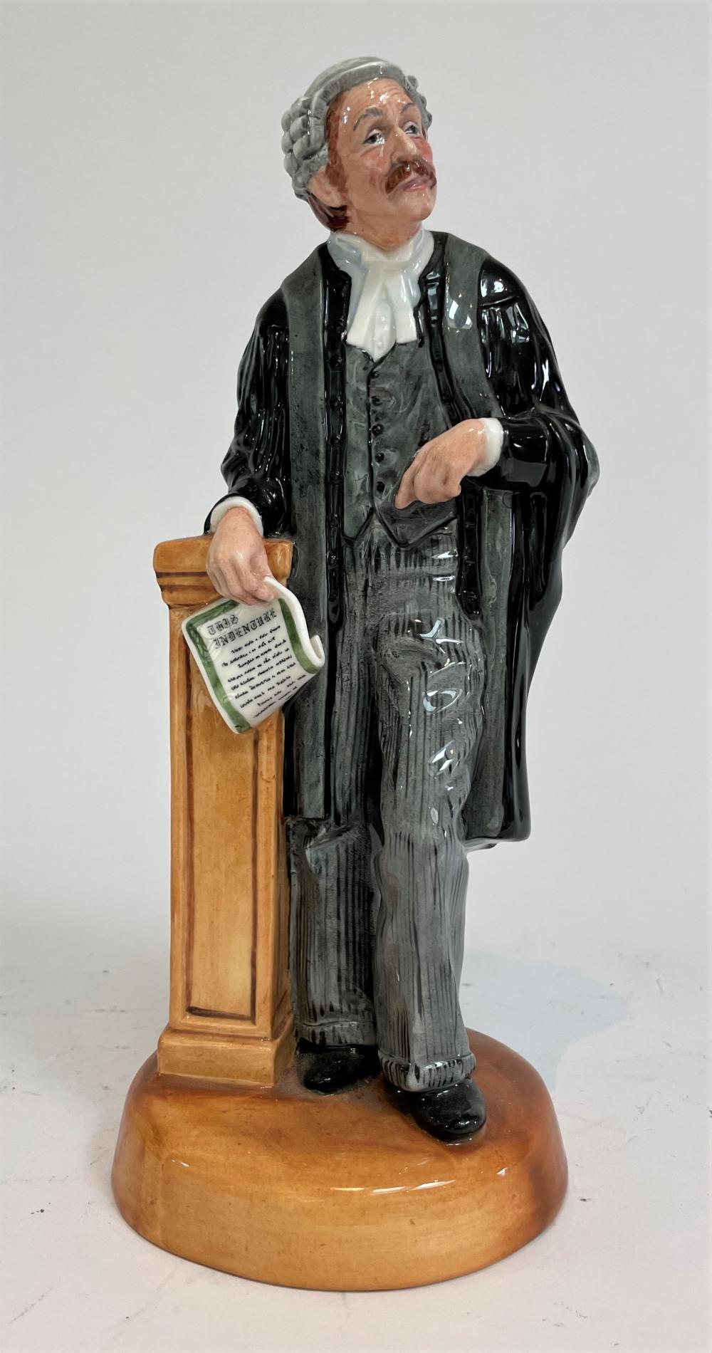 A Royal Doulton The Lawyer Figure HN3041