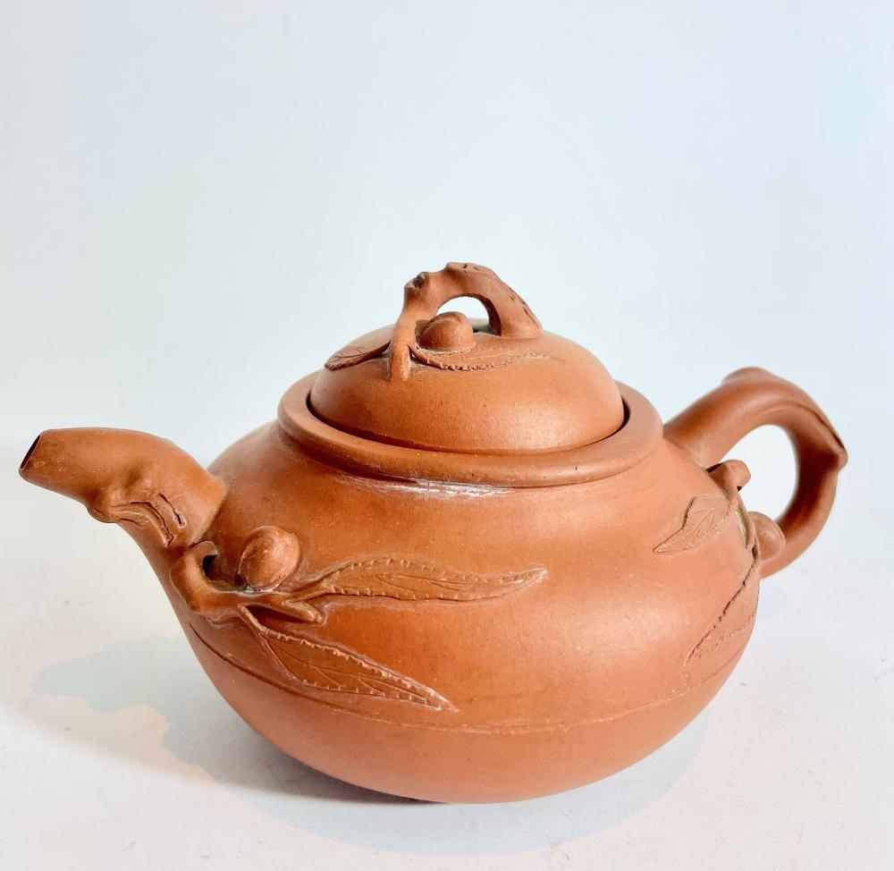 A Japanese Terracotta Teapot