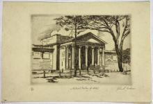 John Barclay Godson, (1882-1957), The National Art Gallery of NSW, Etching/softground ed. 13/30
