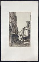 John Barclay Godson, (1882-1957), The Shambles, York II, Etching ed. 8/50 2nd state