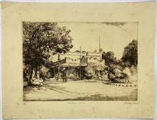 John Barclay Godson, (1882-1957), Vaucluse House, Etching ed.23 /60