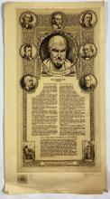 John Barclay Godson, (1882-1957), The Hippocratic Oath, Etching ed. Uneditioned