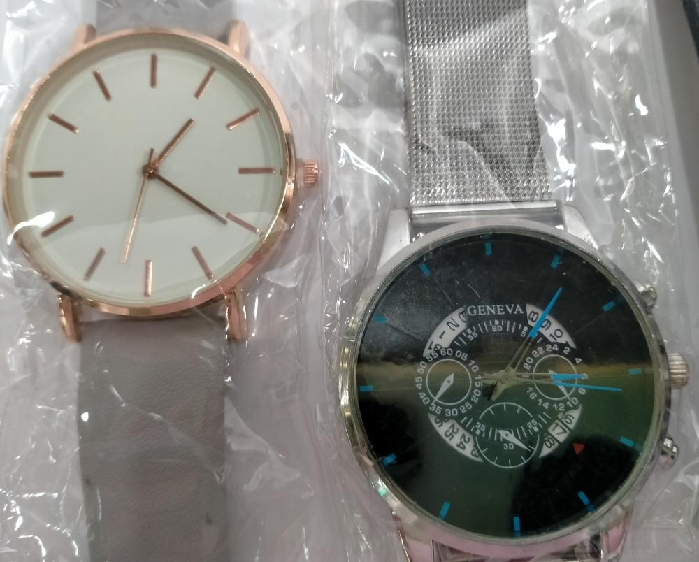 A bag of assorted dress & other watches A.F.