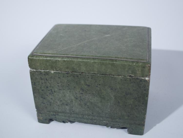 Korean Joseon Period Soapstone Box