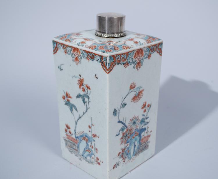 Chinese Famille Verte Saki Bottle