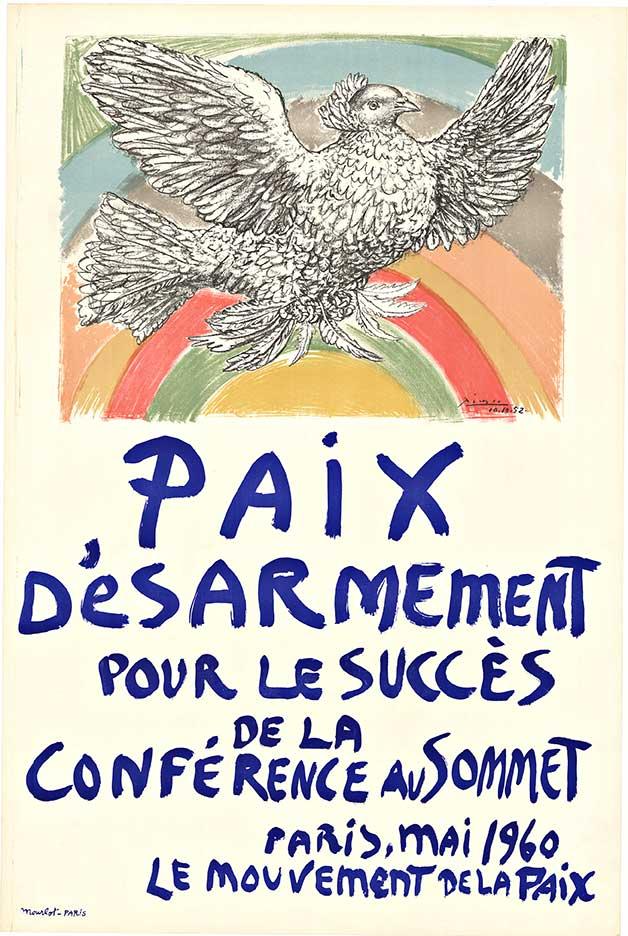 Picasso - Paix D'esarment - Peace