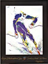 ASPEN WINTERNATIONAL; Original Ski Poster