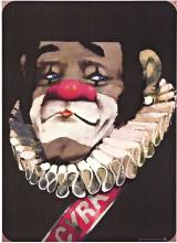 CYRK CLOWN, original Polish circus poster