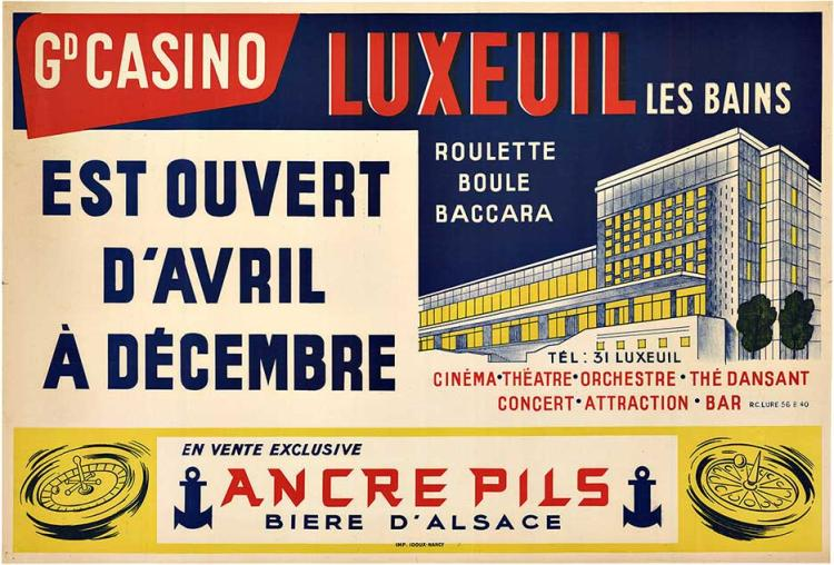 CASINO LUXEUIL Les Baines