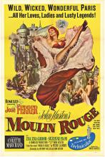 MOULIN ROUGE - U.S. 1 sheet (Yellow background) Original movie poster
