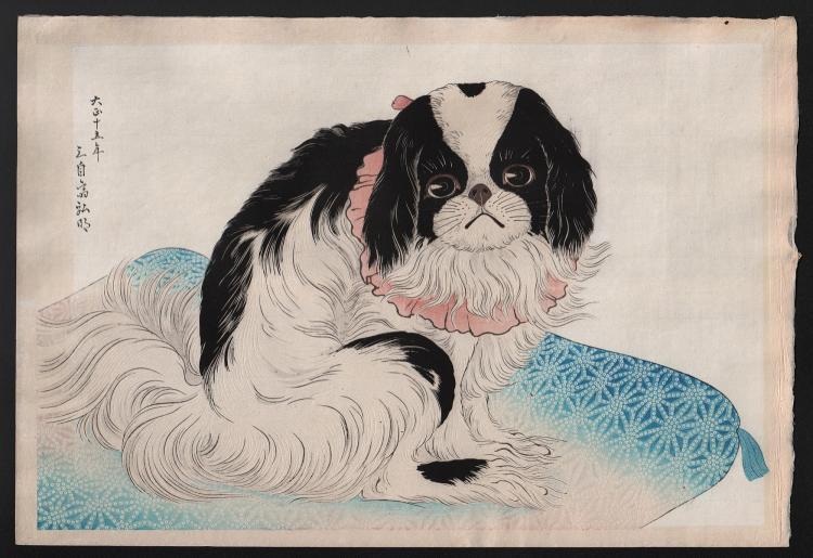 Original Japanese woodblock print by Takahashi Shotei