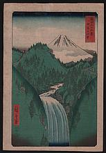 Original Japanese Woodblock print by Hiroshige