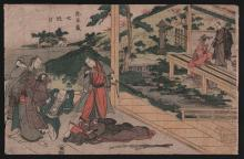 Original Japanese Woodblock print by Toyokuni I