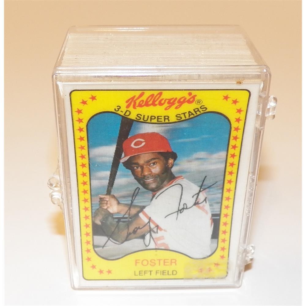 f05c6983cc6 Complete Set of (66) 1981 Kellogg s 3-D Super Stars Baseball Cards