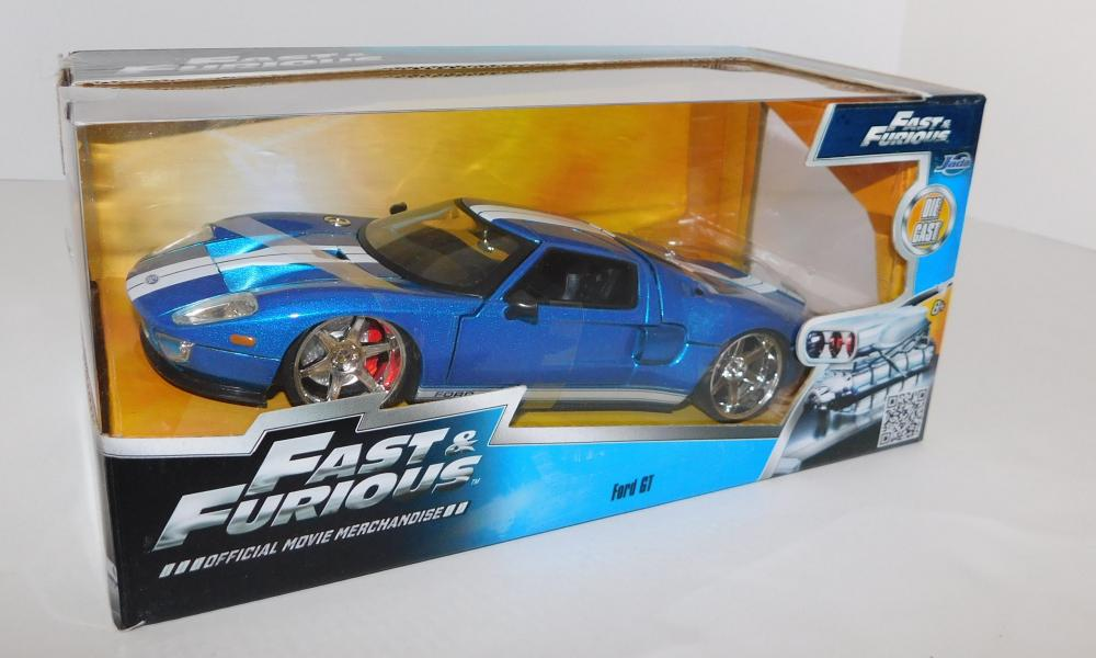 Lot  Fast And Furious  Scale Ford Gt