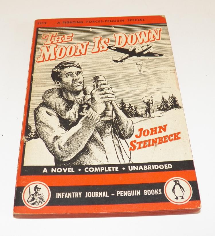 The Moon is Down by John Steinbeck - 1943 First Penguin Edit