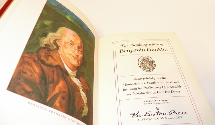 an introduction to the autobiography of benjamin franklin The autobiography of benjamin franklin with introduction and notes edited by charles w eliot, lld, p f collier & son company, new york (1909.