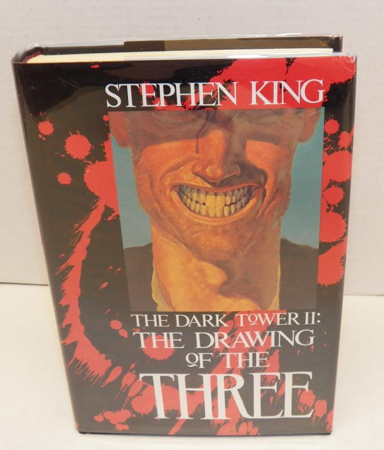 The Dark Tower II: The Drawing of the Three by Stephen King (1st Trade Edition)-