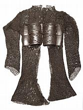 ‡ A MOGHUL INDIAN MAIL SHIRT, 17TH/18TH CENTURY formed of riveted and butte