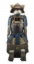 A JAPANESE ARMOUR (TOSEI GUSOKU), EDO PERIOD, 19TH CENTURY comprising eight