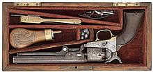 A CASED .31 CALIBRE COLT LONDON SECOND MODEL 1849 POCKET REVOLVER, NO. 941