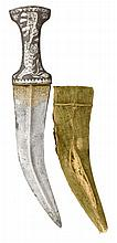**AN OTTOMAN DAGGER (JAMBIYA), 19TH CENTURY with