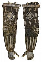 **A PAIR OF JAPANESE ARM DEFENCES (KOTE), EDO PERIOD