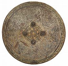 AN INDIAN HIDE SHIELD (DHAL), LATE 18TH/19TH CENTURY