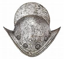 A GERMAN COMB MORION, NUREMBERG, EARLY 17TH CENTURY
