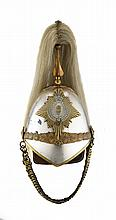 A HELMET FOR THE 2ND COUNTY OF LONDON IMPERIAL YEOMANRY, CIRCA 1908-14