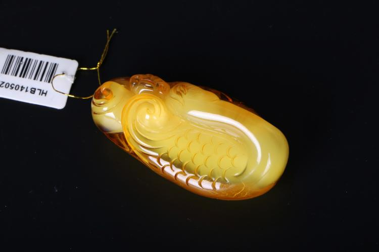 A chinese carved beeswas