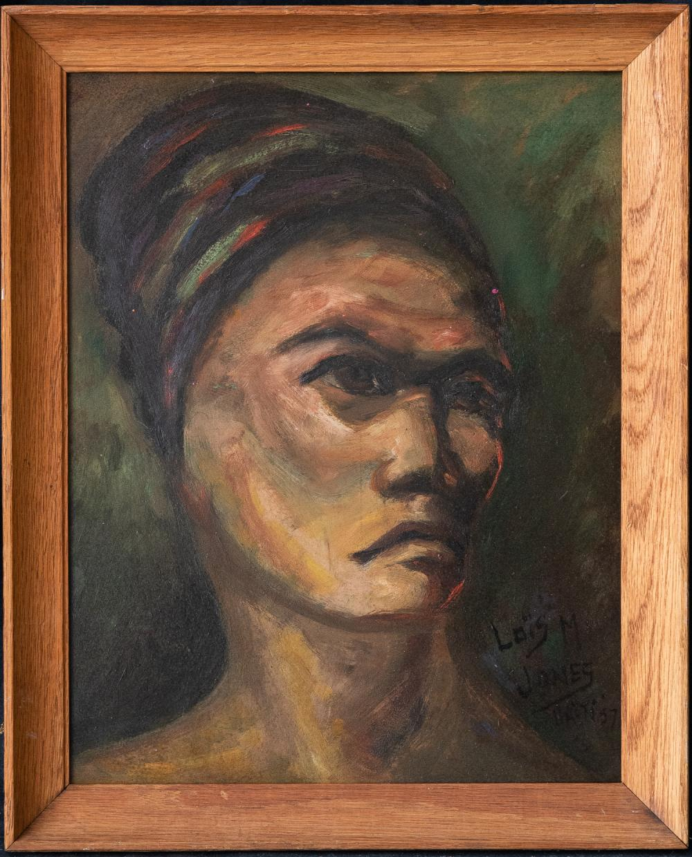 Lois Mailou Jones (1905 - 1998) Haitian Artist OIl