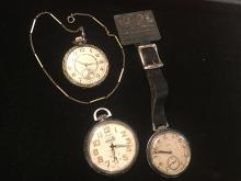 3 Estate Pocket Watches