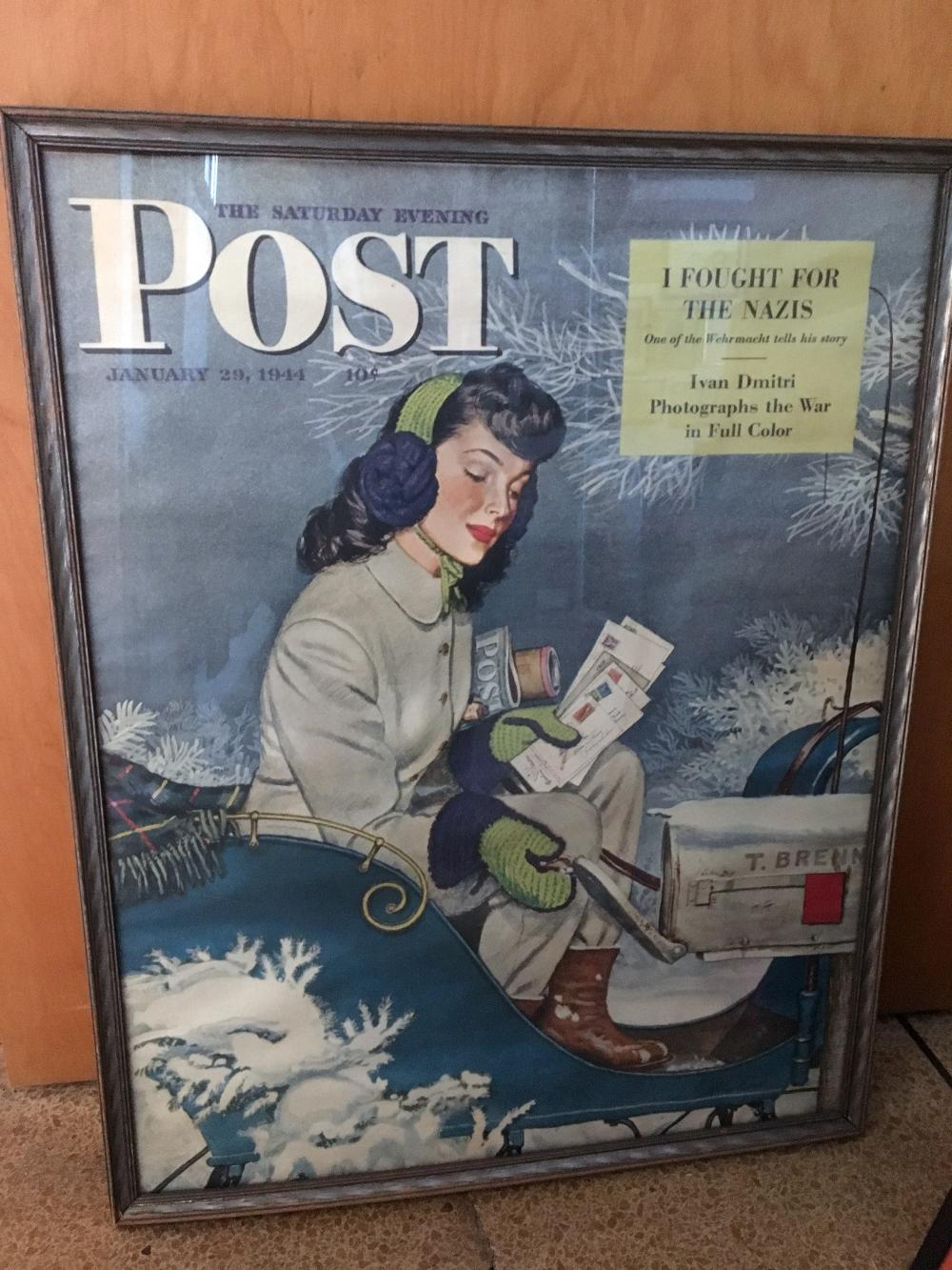 Saturday Evening Post Cover