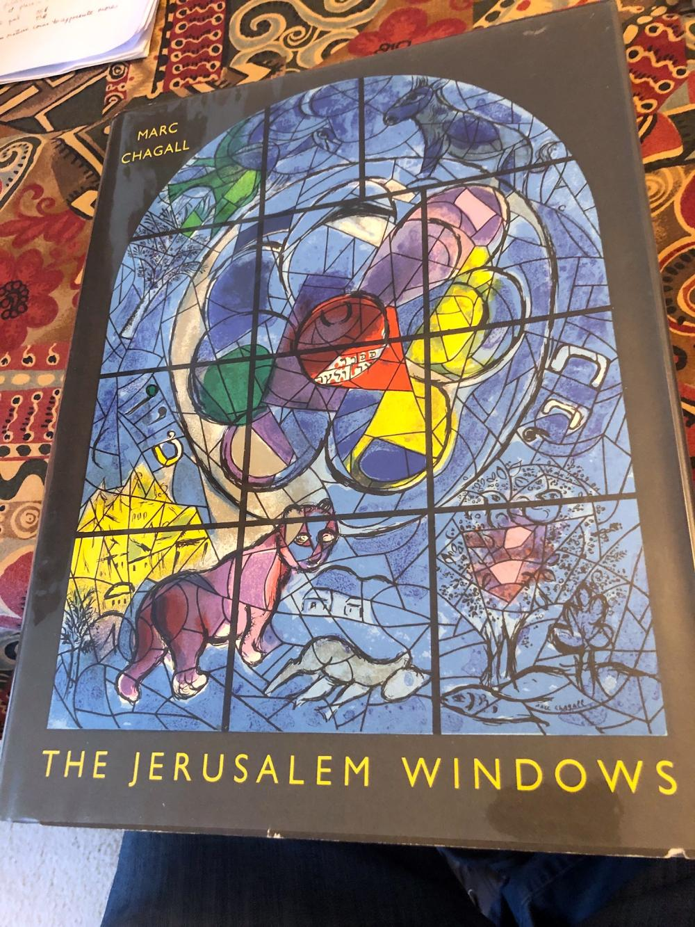 The Jerusalem Windows, First Edition, Marc Chagall