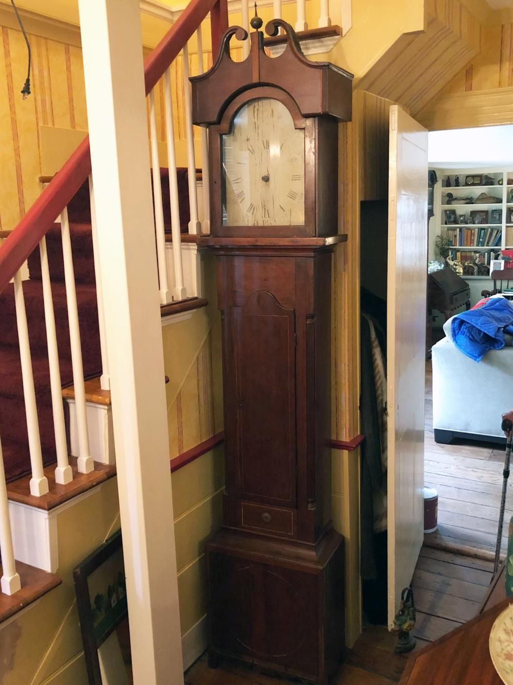 Wooden Works Grandfather Clock