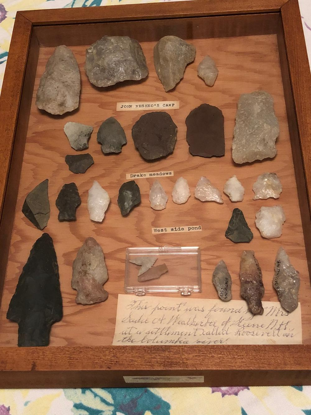 Native American Arrowheads Collection