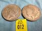 2 US Silver Dollars 1921 Morgan and 1923-S Peace Silver Dollar