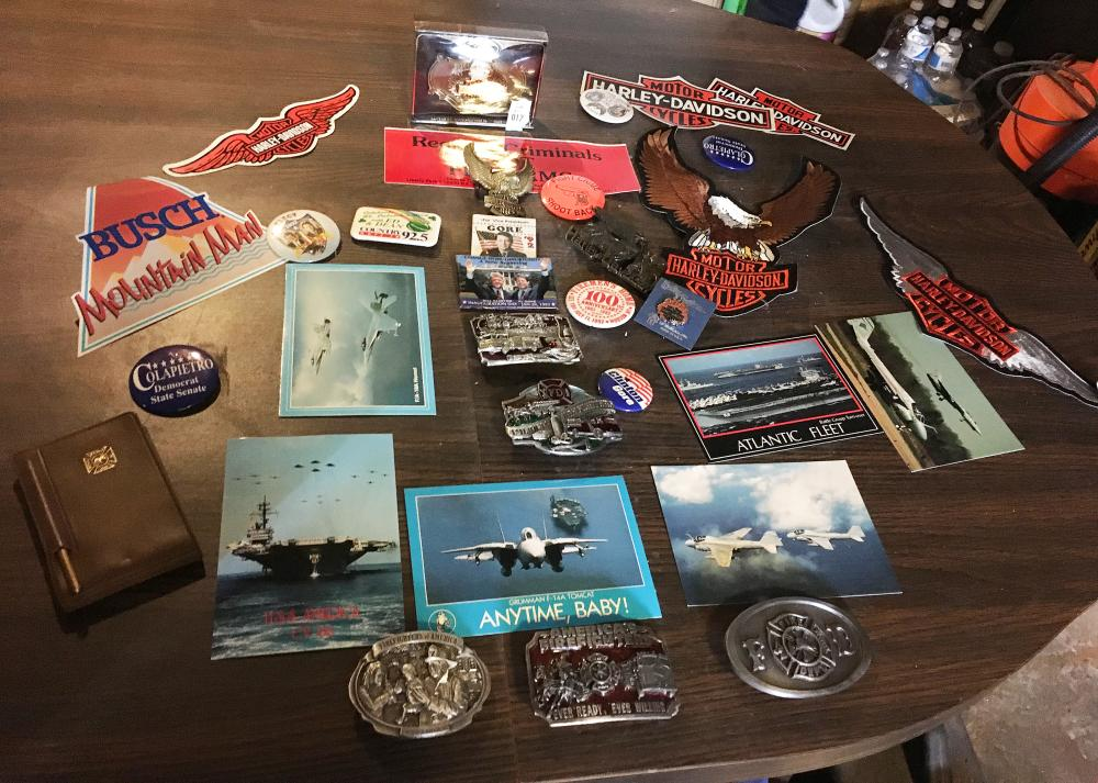 Estate Belt Buckles and Patches