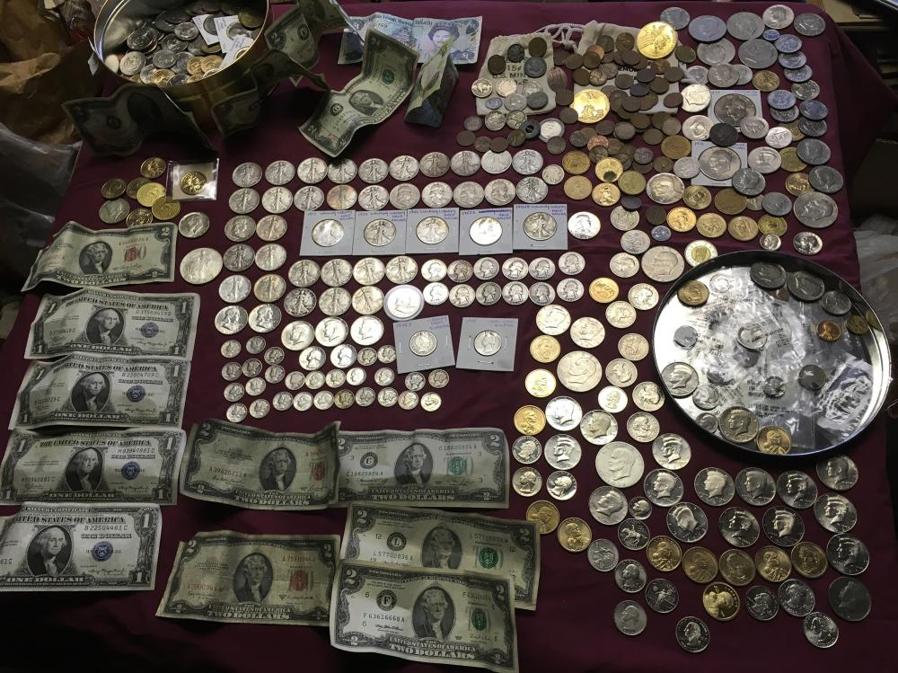 Estate Coins and Paper Money
