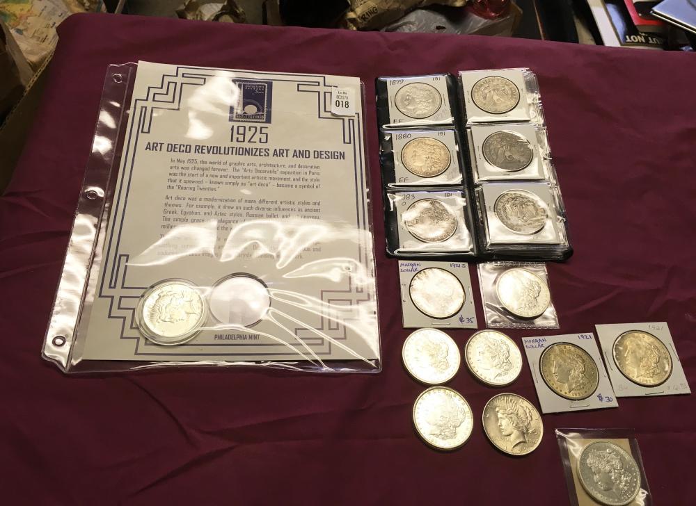 Estate Silver Dollars