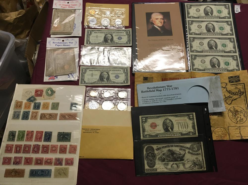 Estate Currency Collection