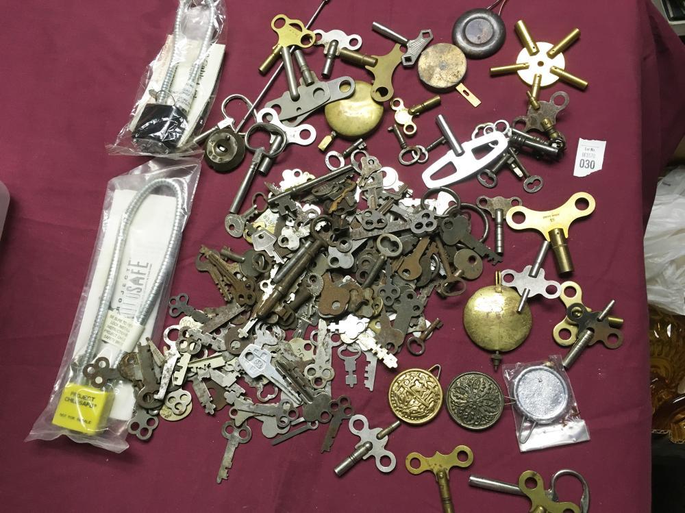 Keys and Clock Pendulums