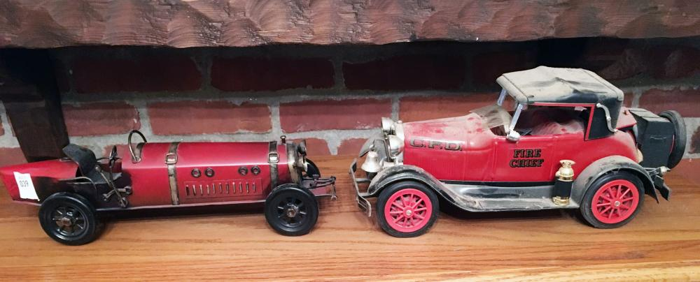 Vintage Car and Decanter
