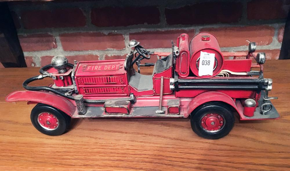 Decorative Early Fire Truck