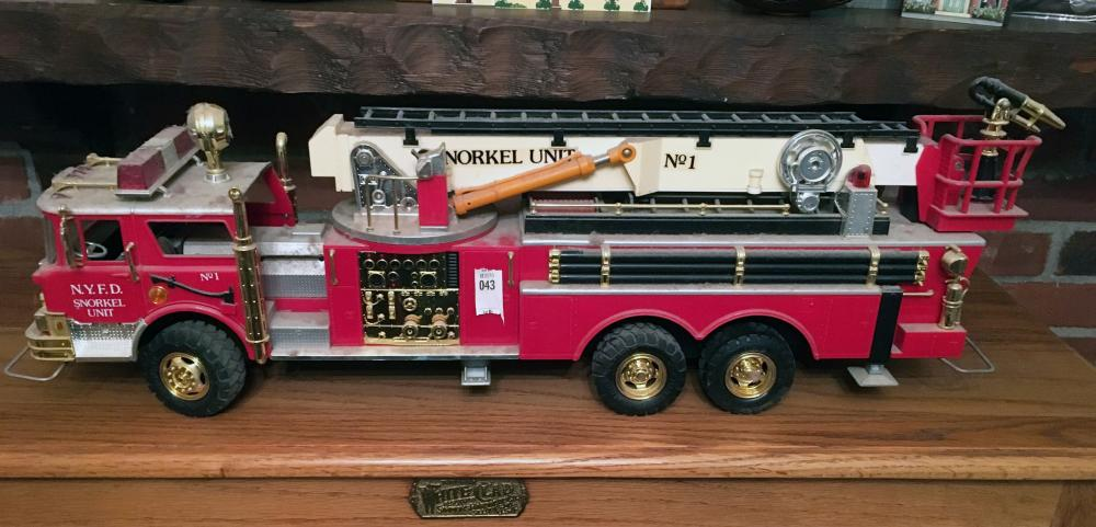 Toy Fire Truck.